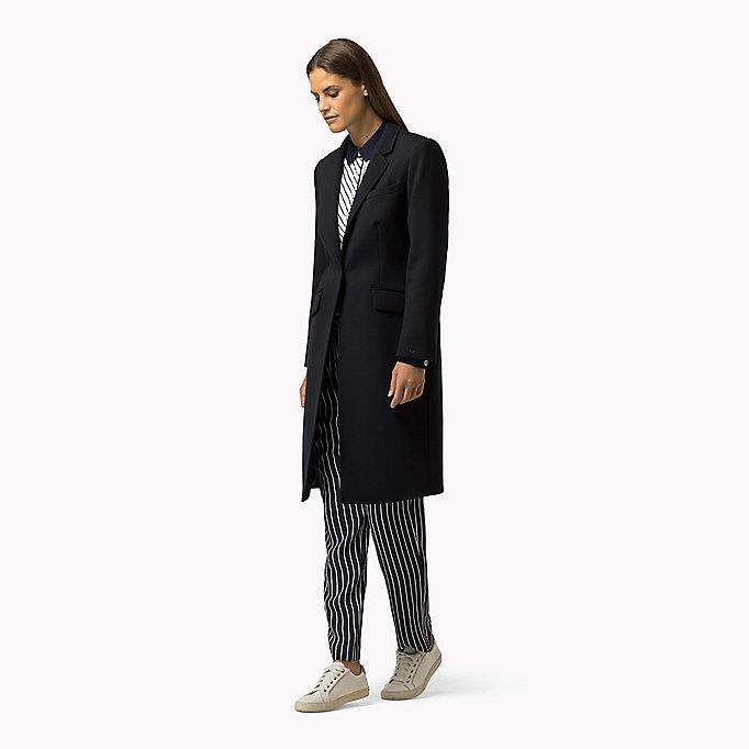 klassischer mantel aus wollgemisch tommy hilfiger. Black Bedroom Furniture Sets. Home Design Ideas