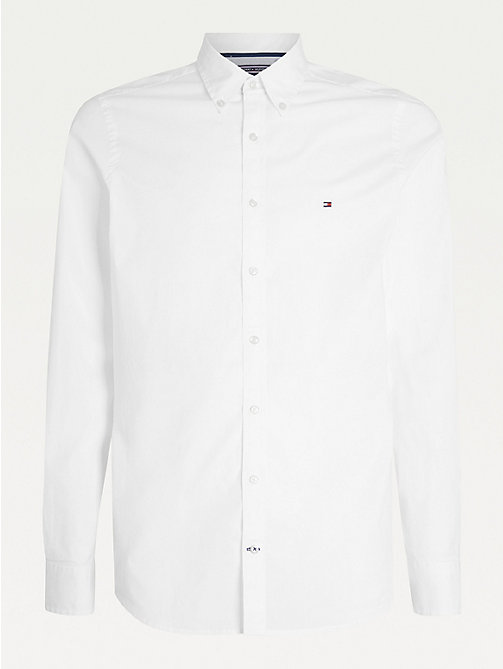 Tie Dye Tommy Hilfiger Midweight Cotton Button-Front Shirt Men/'s Large B446
