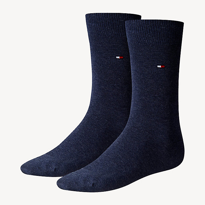 TOMMY HILFIGER 2 Pack Classic Socks - TIBETAN RED - TOMMY HILFIGER Men - main image