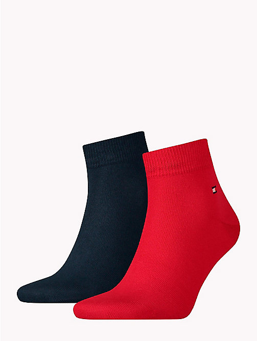 TOMMY HILFIGER 2-Pack Plain Trainer Socks - TOMMY ORIGINAL - TOMMY HILFIGER Socks - main image