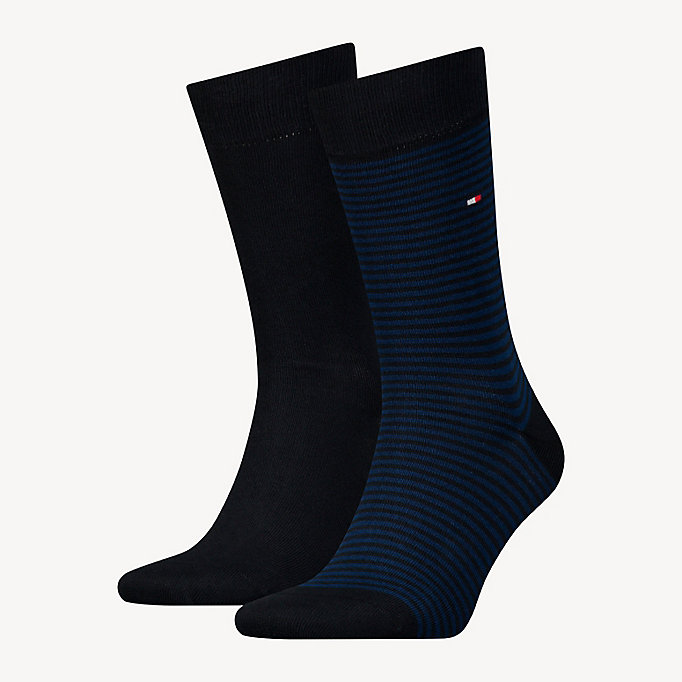 TOMMY HILFIGER 2-Pack Stripe Socks - JEANS - TOMMY HILFIGER Men - main image