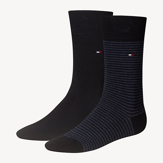 TOMMY HILFIGER 2-Pack Stripe Socks - SUNSHINE - TOMMY HILFIGER Men - main image