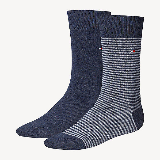 TOMMY HILFIGER 2-Pack Stripe Socks - TOMMY ORIGINAL - TOMMY HILFIGER Men - main image