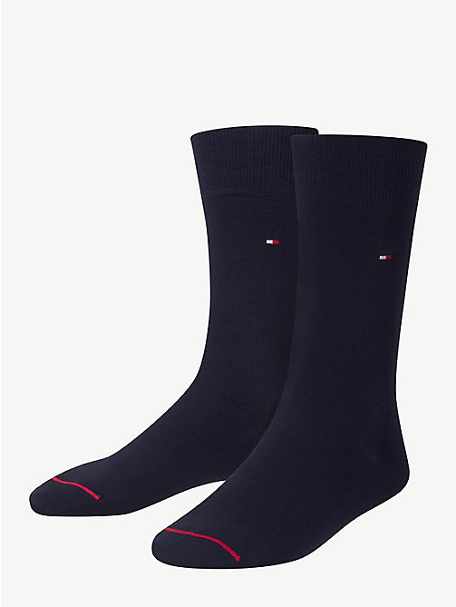 TOMMY HILFIGER Pima Cotton Sock - DARK NAVY - TOMMY HILFIGER Socks - main image