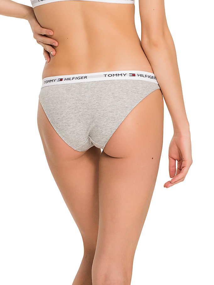 TOMMY HILFIGER Cotton Bikini Briefs - RASPBERRY - TOMMY HILFIGER Women - detail image 1