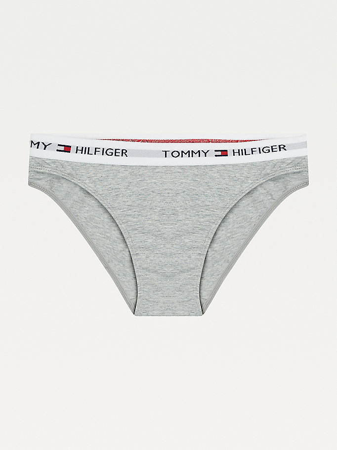 TOMMY HILFIGER Cotton Bikini Briefs - RASPBERRY - TOMMY HILFIGER Women - main image