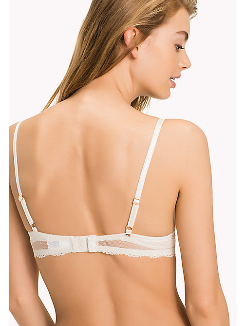 TOMMY HILFIGER Beauty Push-Up Bra - EGRET-PT - TOMMY HILFIGER Women - detail image 1