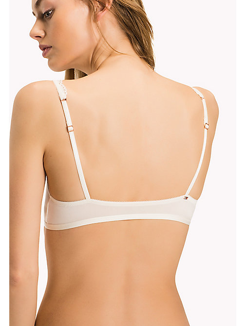 TOMMY HILFIGER Beauty Triangle Bra - EGRET-PT - TOMMY HILFIGER Women - detail image 1
