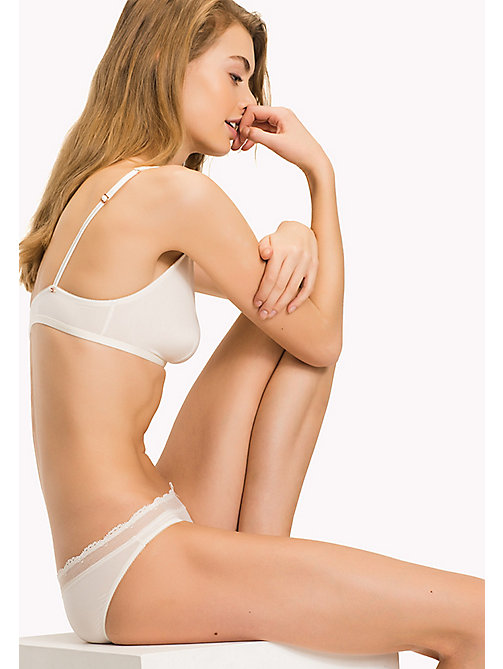TOMMY HILFIGER Beauty Triangle Bra - EGRET-PT - TOMMY HILFIGER Women - main image