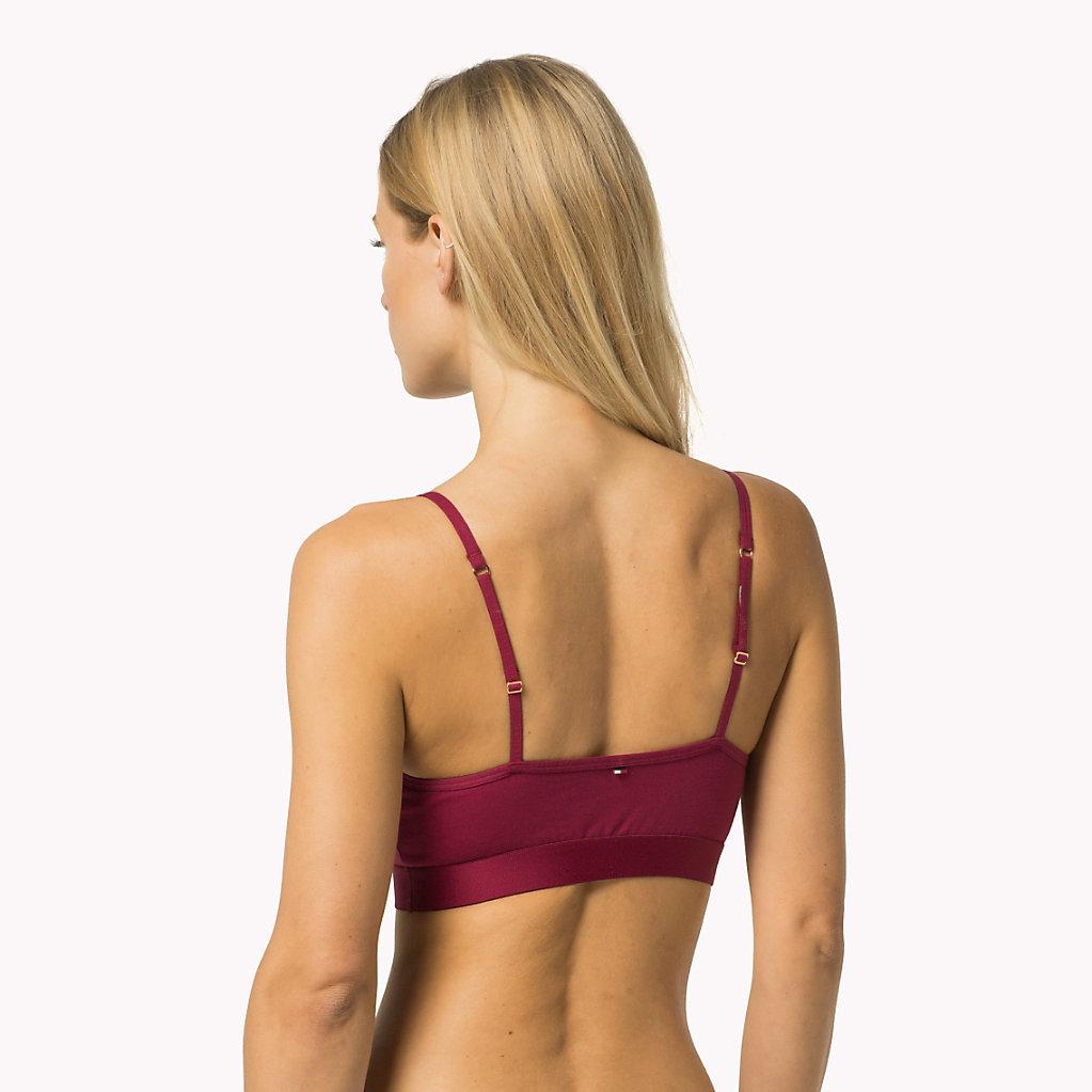 Tommy Hilfiger - Logo-Bralette aus Stretch-Baumwolle - 2