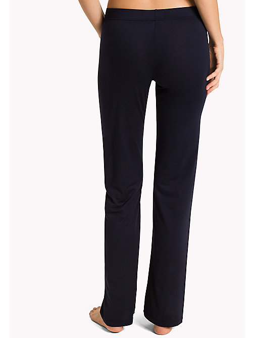 TOMMY HILFIGER Relaxed Stretch Modal Leggings - NAVY BLAZER - TOMMY HILFIGER Women - detail image 1