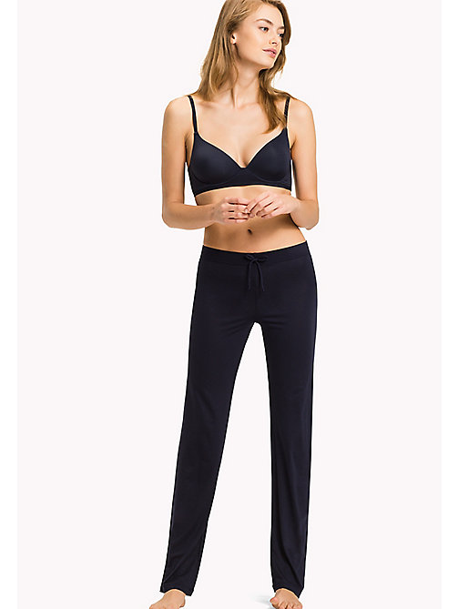 TOMMY HILFIGER Relaxed Stretch Modal Leggings - NAVY BLAZER - TOMMY HILFIGER Bottoms - main image