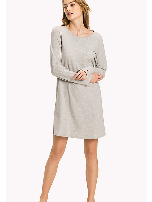TOMMY HILFIGER Night Dress - GREY HEATHER BC05 -  Clothing - main image