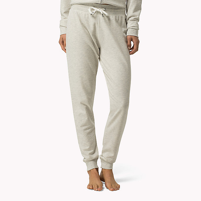 TOMMY HILFIGER Stretch-Trainingshose - GREY HEATHER BC05 - TOMMY HILFIGER Damen - main image
