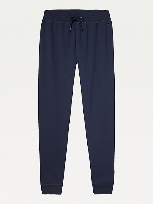 TOMMY HILFIGER Elasticated Tracksuit Bottoms - NAVY BLAZER-PT - TOMMY HILFIGER Bottoms - main image