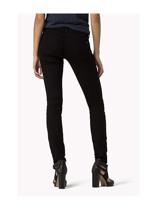 TOMMY JEANS Sophie Skinny Fit Jeans - DANA BLACK STRETCH - TOMMY JEANS Women - detail image 1