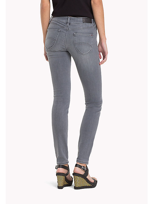 TOMMY JEANS Sophie Skinny Fit Jeans - GREY STRETCH - TOMMY JEANS Jeans - detail image 1