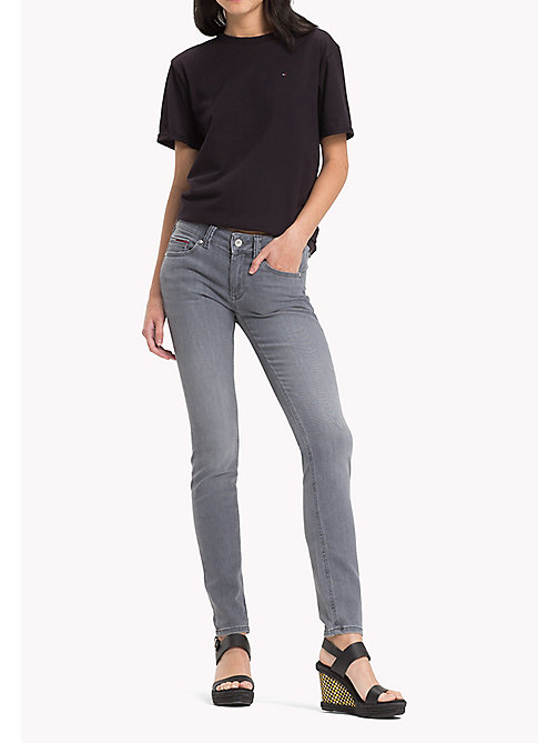 TOMMY JEANS Sophie Skinny Fit Jeans - GREY STRETCH - TOMMY JEANS Jeans - main image