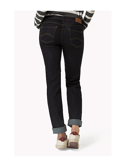 TOMMY JEANS Sandy straight fit jeans - NICEVILLE DARK STRETCH - TOMMY JEANS Kleding - detail image 1