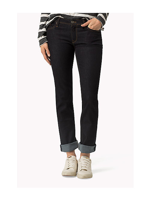 TOMMY JEANS Sandy Jean straight - NICEVILLE DARK STRETCH - TOMMY JEANS Vêtements - image principale