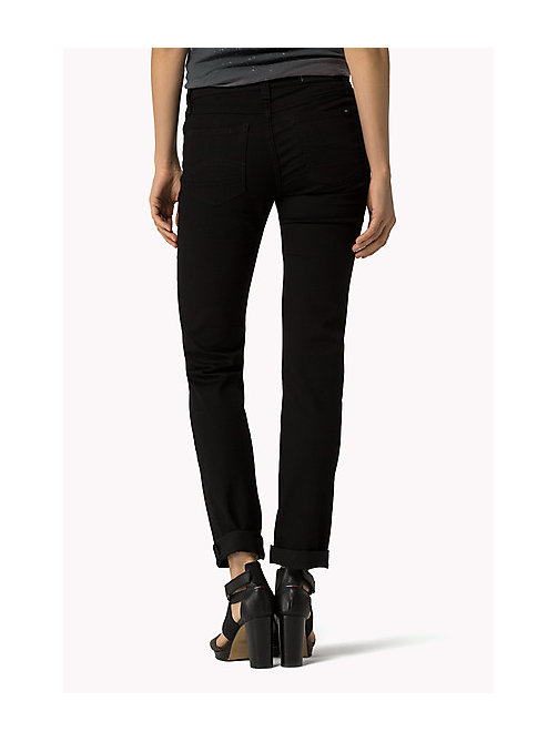 TOMMY JEANS Sandy - Straight fit jeans - DANA BLACK STRETCH - TOMMY JEANS Kleding - detail image 1