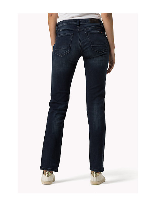 TOMMY JEANS Sandy straight fit jeans - DARK STRETCH - TOMMY JEANS Kleding - detail image 1