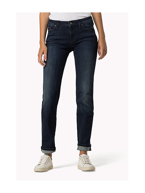 TOMMY JEANS Sandy straight fit jeans - DARK STRETCH - TOMMY JEANS Kleding - main image
