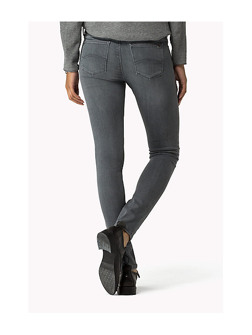 TOMMY JEANS Nora - Skinny fit jeans - GREY STRETCH - TOMMY JEANS Kleding - detail image 1