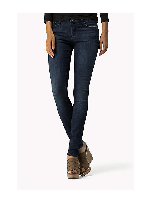 TOMMY JEANS Nora Skinny Fit Jeans - DARK STRETCH - TOMMY JEANS Jeans - main image