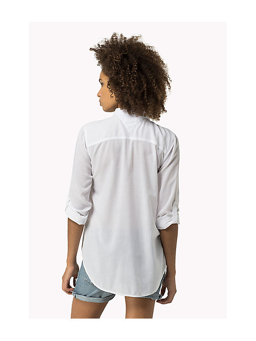 TOMMY JEANS Original Shirt - CLASSIC WHITE - TOMMY JEANS Tops - detail image 1