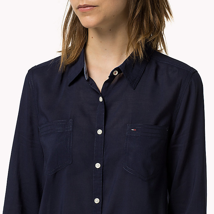 TOMMY JEANS Original Shirt - CLASSIC WHITE - TOMMY JEANS Clothing - detail image 2