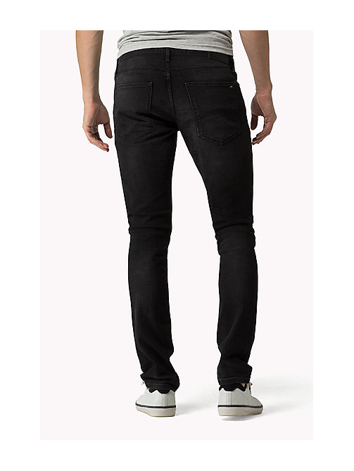 Sidney - Skinny fit jeans - BRADFIELD BLACK STRETCH - TOMMY JEANS Kleding - detail image 1