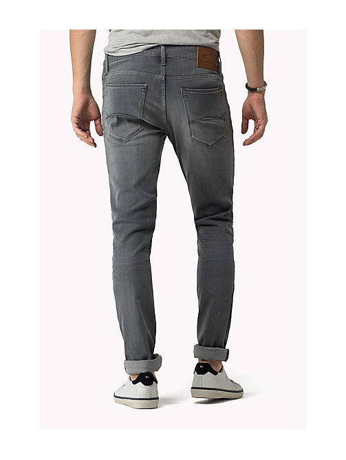 Sidney Skinny Fit Jeans - GREY COMFORT - TOMMY JEANS Clothing - detail image 1
