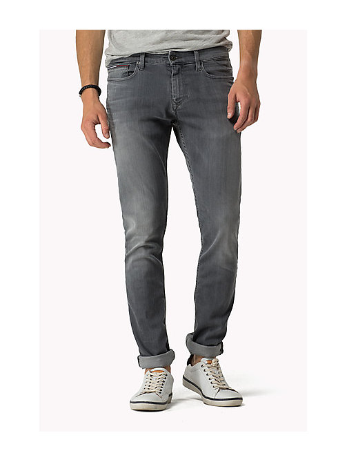 Sidney Skinny Fit Jeans - GREY COMFORT - TOMMY JEANS Clothing - main image