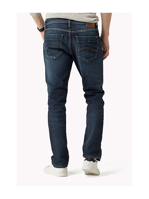 Stve Slim Fit Tapered Jeans - DARK COMFORT -  Men - detail image 1
