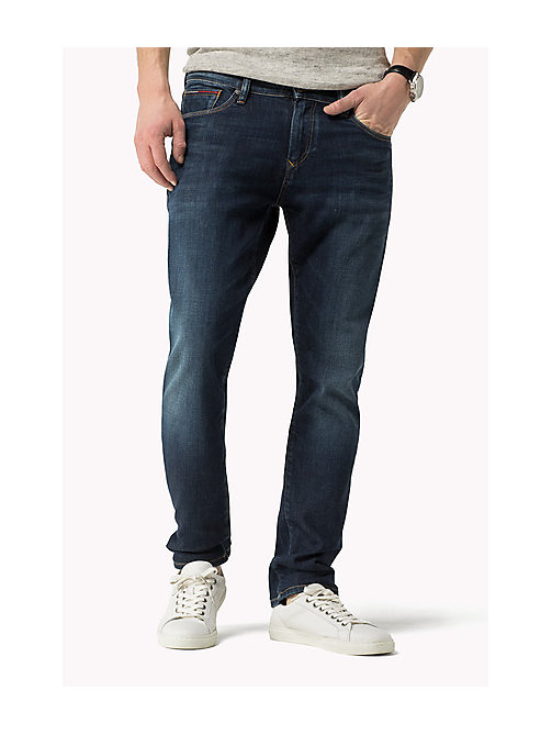 Stve Slim Fit Tapered Jeans - DARK COMFORT -  Men - main image