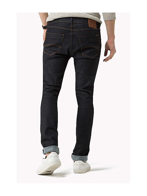 Stve Slim Fit Tapered Jeans - RINSE COMFORT - TOMMY JEANS Men - detail image 1