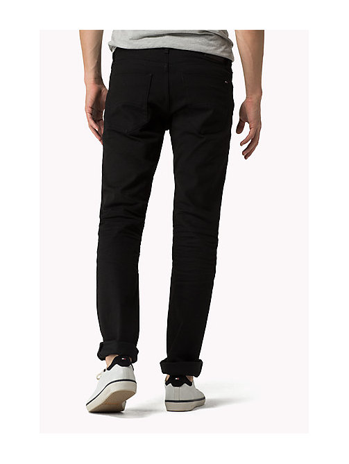 Scanton Slim Fit Jeans - BLACK COMFORT - TOMMY JEANS Men - detail image 1
