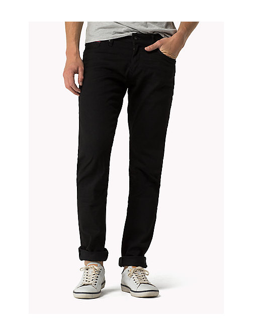 Scanton Slim Fit Jeans - BLACK COMFORT - TOMMY JEANS Clothing - main image