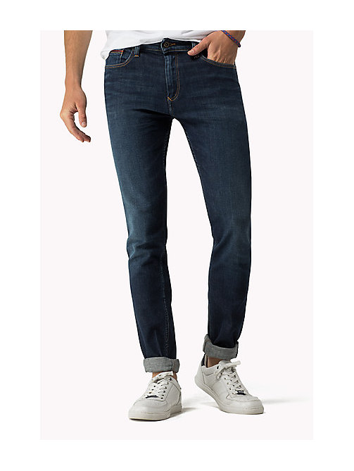Scanton Slim Fit Jeans - DARK COMFORT -  Men - main image