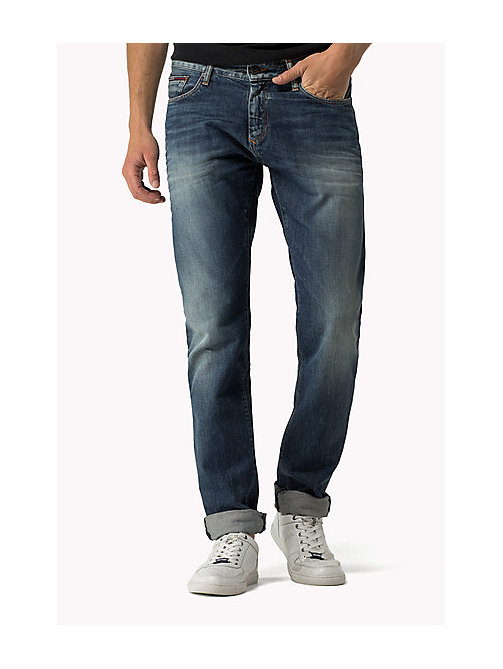 Scanton Slim Fit Jeans - PENROSE BLUE - TOMMY JEANS Clothing - main image