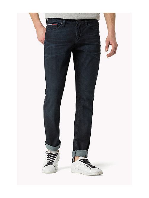 Scanton Slim Fit Jeans - RIVINGTON DARK COMFORT - TOMMY JEANS Men - main image