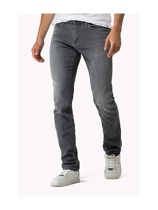 Scanton Slim Fit Jeans - GREY COMFORT -  Men - main image