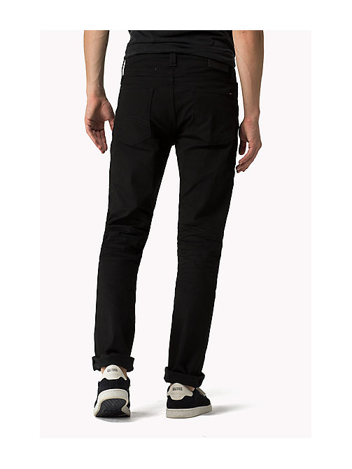 Ryan Straight Fit Jeans - BLACK COMFORT - TOMMY JEANS Men - detail image 1