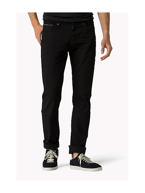 Ryan Straight Fit Jeans - BLACK COMFORT - TOMMY JEANS Clothing - main image