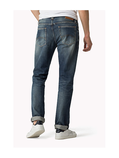 TOMMY JEANS Ryan Straight Fit Jeans - PENROSE BLUE - TOMMY JEANS Jeans - detail image 1