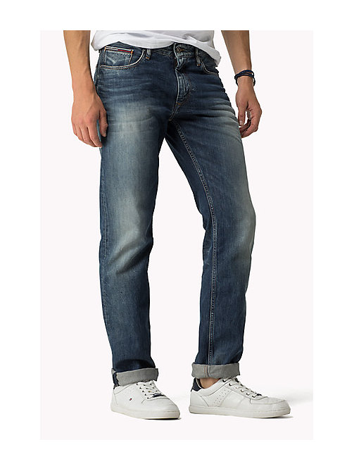 TOMMY JEANS Ryan Straight Fit Jeans - PENROSE BLUE - TOMMY JEANS Jeans - main image