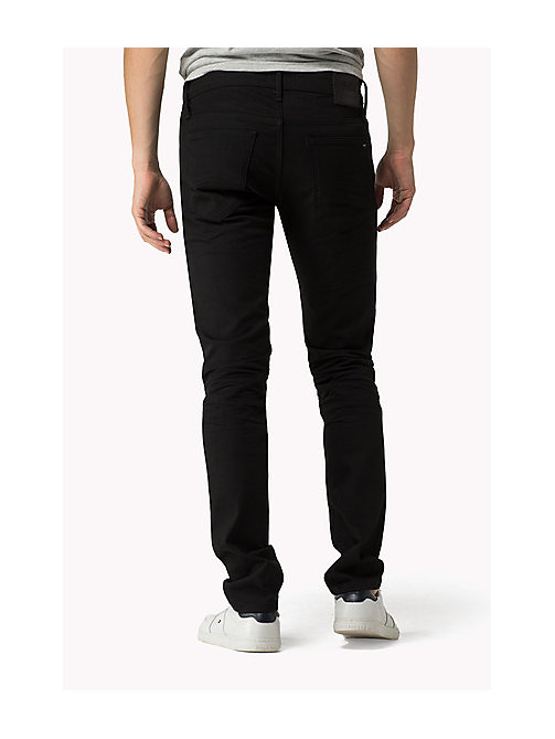 Sidney Skinny Fit Jeans - BLACK COMFORT - TOMMY JEANS Men - detail image 1