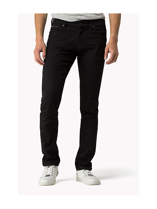 Sidney Skinny Fit Jeans - BLACK COMFORT - TOMMY JEANS Clothing - main image