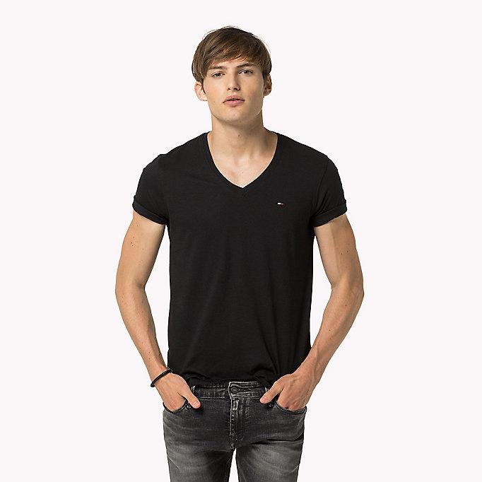 original v neck t shirt tommy hilfiger official website. Black Bedroom Furniture Sets. Home Design Ideas